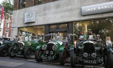 Bentleys in Barclay Square
