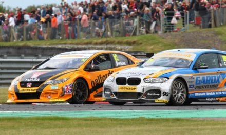 Honda and Gordon Shedden set Snetterton on fire