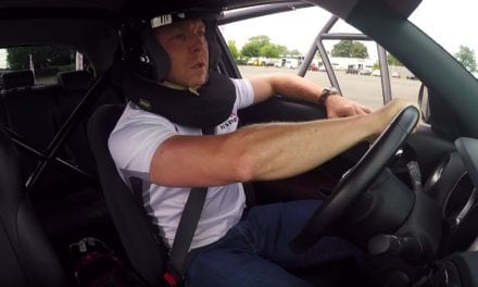 Chris Hoy Back on Two Wheels with Nissan
