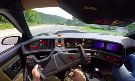Knight Rider K.I.T.T. car driven and spoiler alert, it's awful…