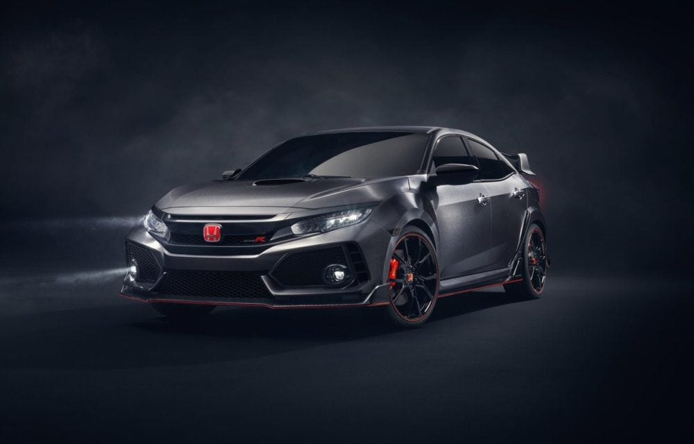 Honda Civic Featured in latest Free Car Mag now the amazing Type R prototype revealed