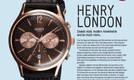 Henry London – Free Car Mag's Favourite new watch opens store