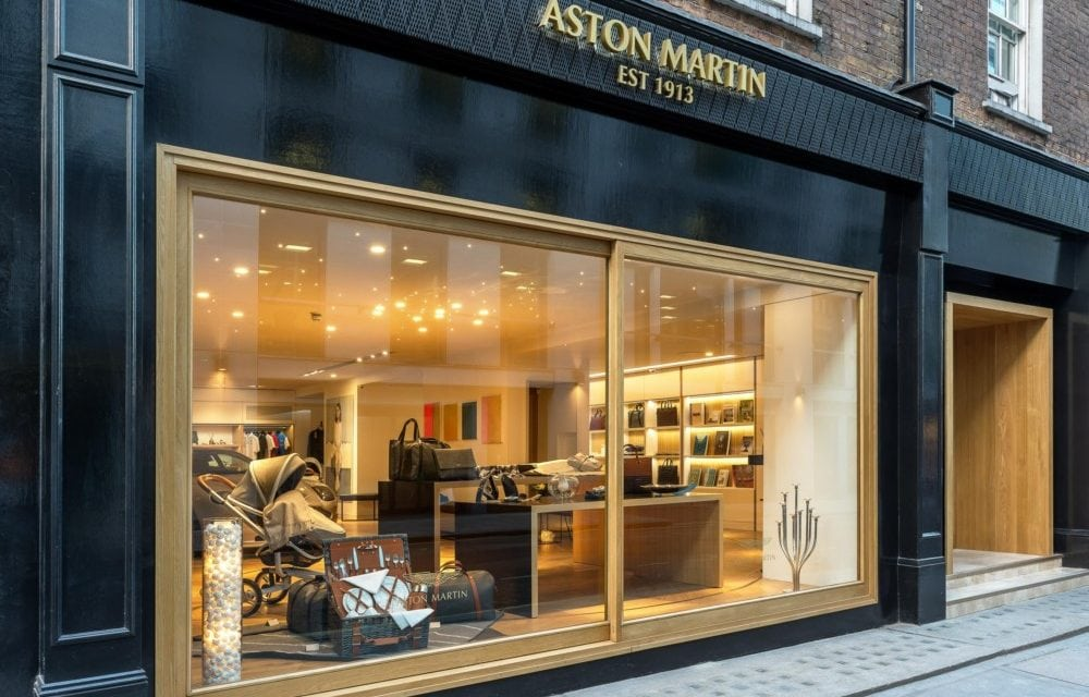 Aston Martin No. 8 Dover Street is our kind of shop