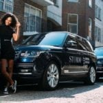 RANGE ROVER GLIDES INTO LONDON FASHION WEEK WITH STORM