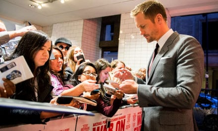 War on Everyone Premiere with ALEXANDER SKARSGÅRD