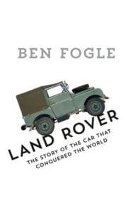 9780008194222 188x300 - Ben Fogle has a book out about Land Rovers
