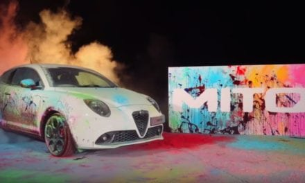 Alfa Romeo UK – New Alfa MiTo creates work of art captured by iPhone 7