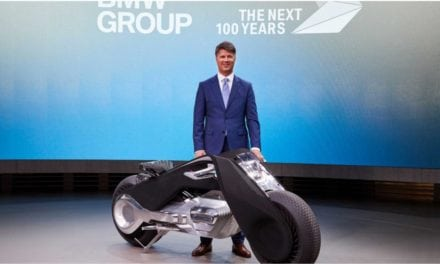 BMW show us the future of motorbiking and brilliantly it seems to be Tron