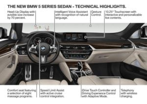 P90237785 the new bmw 5 series sedan 10 2016 600px 300x212 - BMW 5 Series - everything you need to know in a few pictures