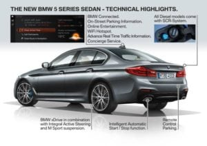P90237789 the new bmw 5 series sedan 10 2016 600px 300x212 - BMW 5 Series - everything you need to know in a few pictures