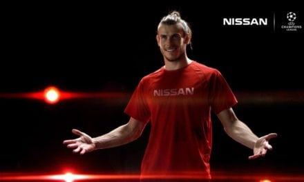 Gareth Bale & Sergio Aguero: Nissan UEFA Champions League Ambassadors