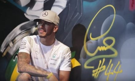 Lewis Hamilton in São Paulo, Brazil with PUMA MOTORSPORT