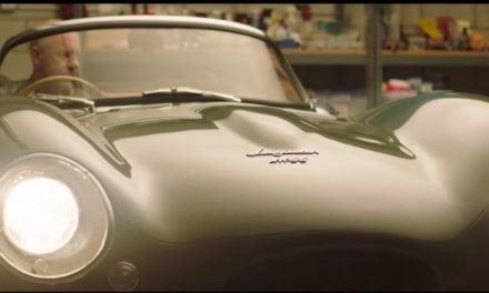 Jaguar XKSS Prototype Revealed in Los Angeles