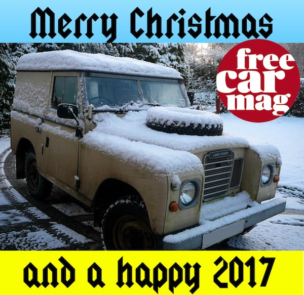 Happy New Year to all Free Car Mag readers.