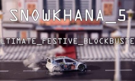 Snowkhana 5: The Stop motion drifting sensation is back!