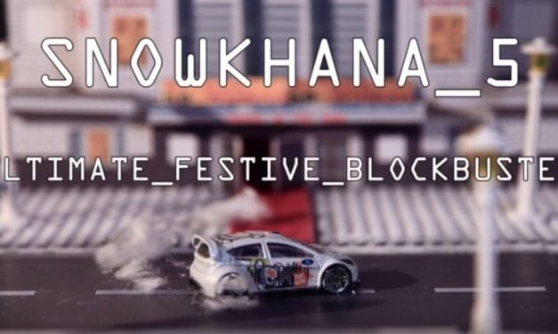Snowkhana 5: The Stop motion drifting sensation is back!