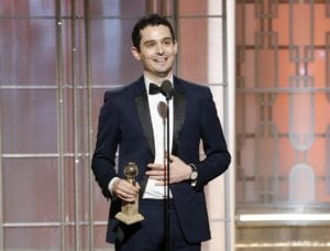 Damien Chazelle winner of Best director and best screenplay at the 74th Golden Globe Awards 300x228 - La La Land Sweeps the Golden Globes