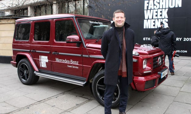 London Fashion Week – Dermot O'Leary