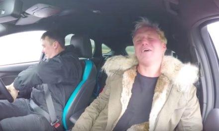 Driven in Chelsea – Jamie Laing goes sideways