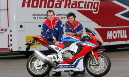 GUY MARTIN COMPLETES HONDA RACING DREAM TEAM