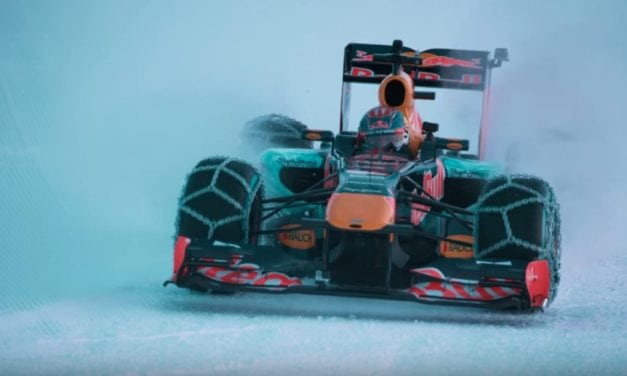 Bored Red Bull F1 drivers…and the new RB13
