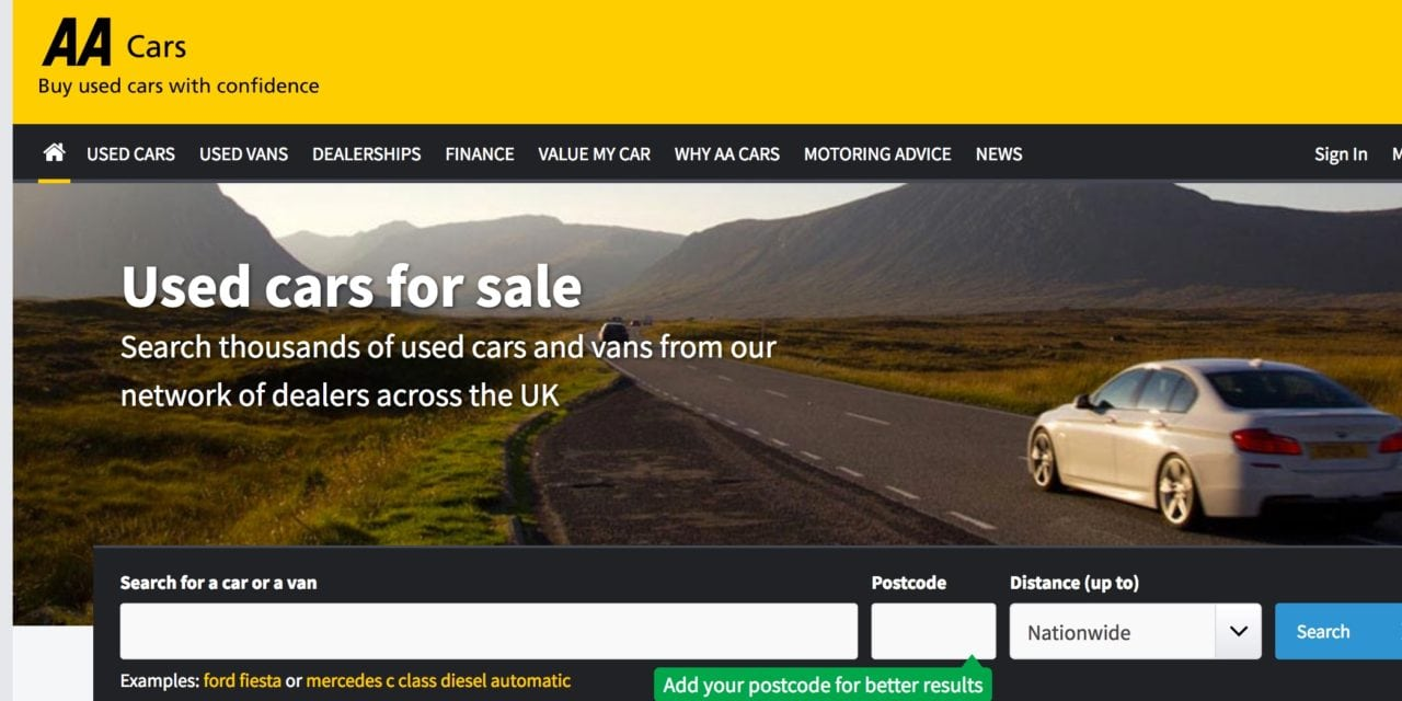 AA CARS LAUNCHES 'APPROVED DEALER' TO BOOST CONFIDENCE IN USED CAR MARKET