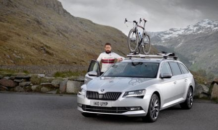 Sir Bradley Wiggins and Skoda