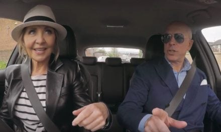 Lulu tells her brilliant celebrity stories inside a Vauxhall Astra