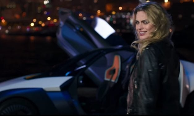 Margot Robbie goes Electric, with Nissan