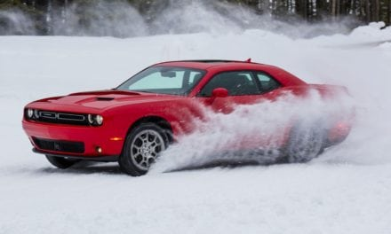 Dodge Challenger GT on Ice