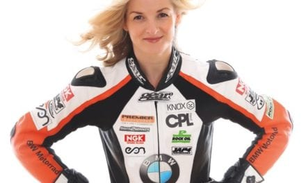 Maria Costello MBE suits up to become IAM RoadSmart road safety ambassador