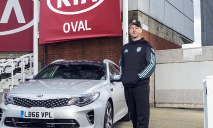 KIA SUPPORT SURREY CAPTAIN GARETH BATTY