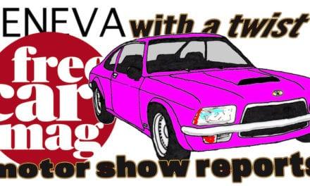 Free Car Mag at the Geneva Motor Show