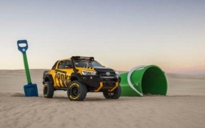 Toyota HiLux Reborn as a Tonka Toy