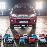 TOYOTA AND TAMIYA'S OFF-ROAD HEROES GO HEAD TO HEAD