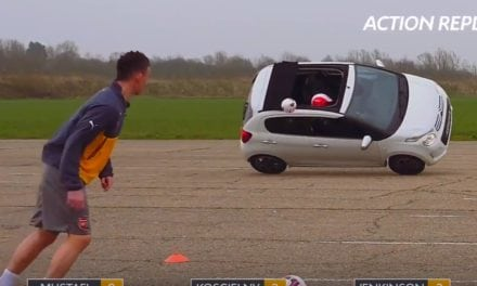 ARSENAL ON TARGET WITH CITROËN C1 AIRSCAPE