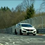 HONDA CIVIC TYPE R SETS  LAP RECORD AT NÜRBURGRING