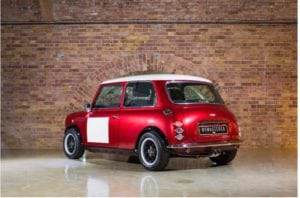 Mini Remastered rear 300x198 - Mini Remastered by David Brown Automotive - our favourite car is back