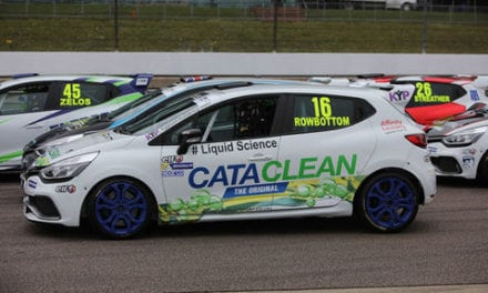 CATACLEAN IS MAIN SPONSOR FOR DRM TEAM IN RENAULT UK CLIO CUP
