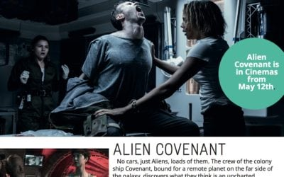 Alien Covenant – Your Super Scary Sci Fi Film for the Weekend…