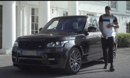BESPOKE RANGE ROVER FOR WORLD CHAMP ANTHONY JOSHUA MBE