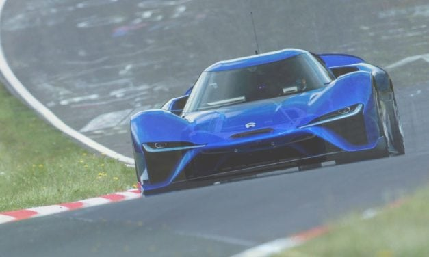 NIO EP9 Nürburgring Nordschleife Lap Record