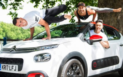 CITROËN 'CAR YOGA' is a thing