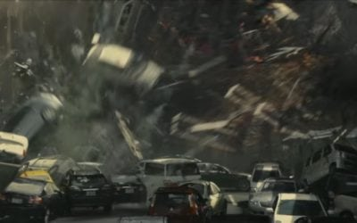 Shin Godzilla – cars will be crushed