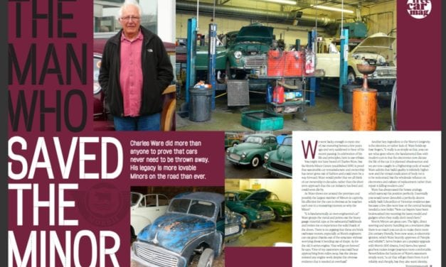 Morris Minor Parts from Charles Ware