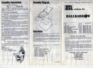 Ballbarrow816 300x218 - Dyson Prototype Vehicle from the 1980s
