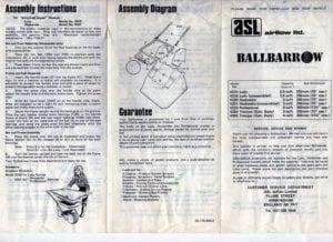 Ballbarrow816 300x218 - Dyson Prototype Vehicle from the 1980s