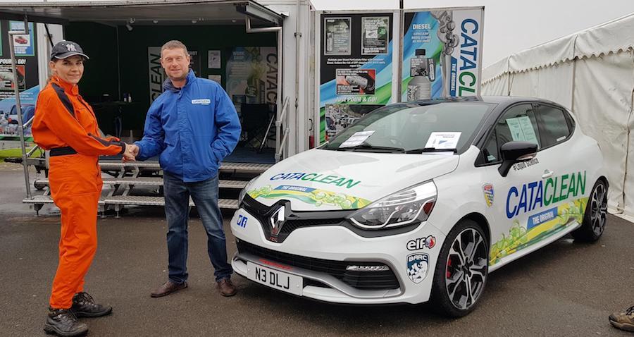CATACLEAN SPONSORS BRITISH MOTORSPORT MARSHALS CLUB OVERALLS
