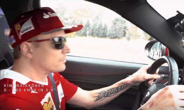Alfa Romeo – The Drivers of Scuderia Ferrari test drive Giulia Quadrifoglio