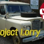 New Defender – Free Car Mag Project Lorry underway